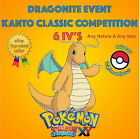 Pokémon ORAS – DRAGONITE EVENTO KANTO CLASSIC COMPETITION 6IV's - ANY NATURE