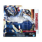 "Buy ""Hasbro Transformers The Last Knight One Step Series Optimus Prime Barricade"" on EBAY"
