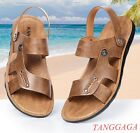 Mens Slides Sandals Sand Walking Shoes New Style Breathable Leisure Fashion Chic