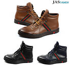 Mens Hi Tops Sneakers Lace Up Boots Party Trainers Casual Fashion Shoes Size UK