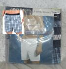Stafford Mens Boxers Comfort Waist 3 Woven Cotton Multi size 30 NEW