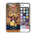 Super Hero Deadpool Iphone 4 4s 5 5s SE 6 6s 7 8 X XS Max XR 11 Pro Plus Case n4