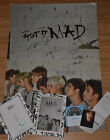 Signed GOT7 4th Album MAD CD+Handsigned Photo Hand Autograph Official Authentic