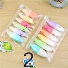 6PCs Face Colorful Highlighter Pens Painting Graffiti Marker Set Pill Shaped
