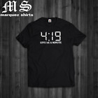 T Shirt 419 Give me a Minute Funny 420 Weed Cannabis Swag Dope Mens Tee