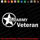 From USA- US ARMY VETERAN/Car/Window/laptop Vinyl Decal Sticker Die-Cut AY007 $3.5 USD on eBay