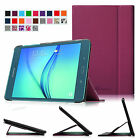 For Samsung Galaxy Tab E Tab A Tab S2 Three Viewing Angles Smart Book Case Cover
