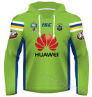 Canberra Raiders 2017 NRL Jersey Hoodie Adults and Kids Sizes