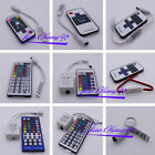Mini 3/40/44 Key IR Remote Wireless Controller For 3528 5050 RGB LED Strip Light