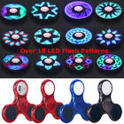 18+ LED Flash Patterns Light Up Tri Fidget Spinner Hand Finger Gyro Toy EDC LOT