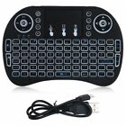 Wireless Keyboard 2.4G with Touchpad for PC PS3 XBOX 360 HTPC Android TV  Black