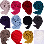 Womens Knitted Winter Warm Scarf Plus size Large Mens Knitting Scarf for lovers