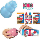 KONG Puppy Dog Toy Teething Chew Snack Easy Treat Dispenser Paste Biscuit Can