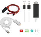 AirPlay 8 pin Apple Lightning to HDMI HDTV AV Cable Adapter for iPhone 6 6S 5S 5