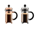 NEW Bodum Chambord Coffee Plunger Glass/Stainless Steel French Press 350ml