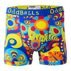 ODDBALLS NEW Men's Boxer Shorts Yellow Hippy Jungle Underwear BNWT