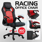 OFFICE CHAIR EXECUTIVE RACING GAMING SWIVEL PU LEATHER SPORT COMPUTER DESK - Best Reviews Guide