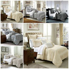 Luxury Jacquard Duvet Cover Bedding Sets With Pillow cases Quilt Covers UK Sizes