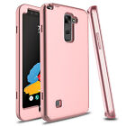 Hybrid TPU+PC Shockproof Armor Rubber Case Cover For LG Stylo 2/Stylo 3/Stylo 4 <br/> For LG Stylo 2 / 3 / 4 | Buy More Save More | 800+Sold