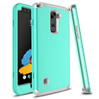 Hybrid TPU+PC Shockproof Armor Rubber Case Cover For LG Stylo 2/Stylo 3/Stylo 4