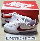NIKE WMNS CLASSIC CORTEZ LEATHER VARSITY RED WHITE ROYAL 807471-103 forest gump