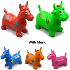 Kids Musical Bouncing Animal Hopper Inflatable Rubber Toy Bouncer - GN Enterpris
