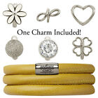 Endless Jewelry StarterKit Yellow Triple Bracelet & Charm (Authorized Retailer)