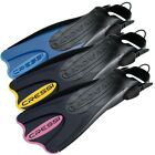 Cressi Palau SAF Strap Snorkel & Swim Fins - ASST COLORS & SIZES - NEW