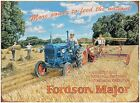 FORD FORDSON MAJOR FARM TRACTOR METAL PLAQUE TIN SIGN VINTAGE NOSTALGIC 305