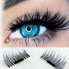 4Pcs/2Pairs Set Soft 3D Magnetic False Eyelashes Long Natural Handmade Makeup
