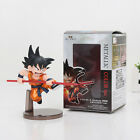 Dragon Ball Z Son Goku Metallic Color Childhood PVC Action Figure Model 2Pcs/lot