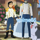 The Little Mermaid Princess Ariel Eric Prince Men Costumes Cosplay Halloween FF