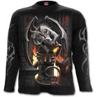 SPIRAL DIRECT KEEPER OF THE FORTRESS Long Sleeve T Shirt/Dragon/Wizard/Flame/Top