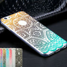 Ultra Thin Pattern Crystal Clear Soft TPU Case Cover For iPhone SE 5 6 6s 7 Plus