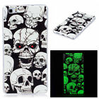 For Huawei P8 Lite Rubber Gel Pattern Case Skin Fluorescence Back Soft TPU Cover