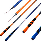 Orange and Blue 2-color Hand Pole Short Section Stream Pole Taiwan's Fishing rod