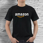 Amazon Online Marketplace Logo Men's Black And White T-shirt Size S To 2xl