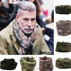 Men Camouflage Scarves Army Military Tactical Keffiyeh Shemagh Scarf Head Wrap