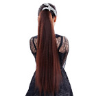 27''LongSensational Drawstring Ponytail Instant Hair Extension Natural Perm Yaki