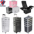 Make Up Case Hairdressing Vanity Beauty Cosmetic Box Trolley Extra Large Space