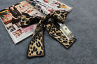 1pc 100 SILK EXCELLENT CONDITION MINI SCARF TWILLY BANDEAU WRAP RIBBON BOW TIE
