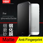Matte 9H Tempered Glass Screen Protector For iPhone 5 5C 5S SE 6 6S 7 8 Frosted