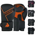 VELO Boxing Gloves Kids Junior Mitts Sparring Children Mma Gel Training Punchbag