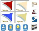 Sun Shade Sail Garden Patio Party Sunscreen Awning Canopy 98% UV Block Triangle