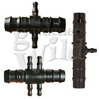 CROSS CONNECTOR TEE SPLITTER REDUCER 13mm-4mm IRRIGATION PIPE FITTING hydroponic