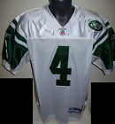 NEW YORK JETS 4 FARVE Sewn Jersey WHITE M L XL 2X 3X PLAYER CLEAROUT save big