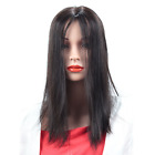 "Handmade  18"" Straight Clip in Real Human Hair Topper Hair Piece  For Women"
