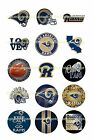 "NFL BOTTLE CAP IMAGES 45 1"" CIRCLES ALL TEAMS YOU PICK $4.45 ***FREE SHIPPING*** $4.45 USD on eBay"