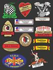 VINTAGE MOTORCYCLE DEALER DECALS  OLD SCHOOL $5.0 USD