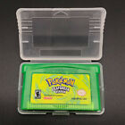 1-12Pcs Pokemon Collection Rare Version Special Pikachu.. Emerald..Nintendo Game